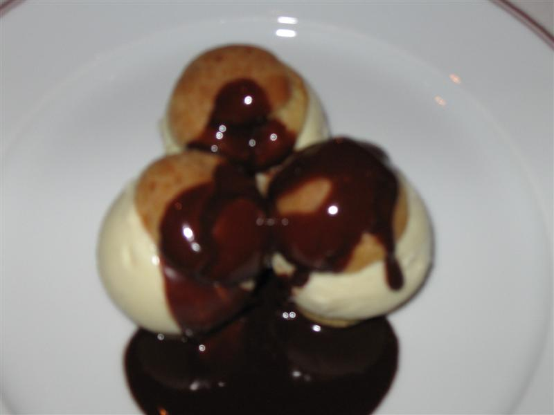 profiteroles medium Bouchon Beverly Hills   11/21/09 and 11/22/09