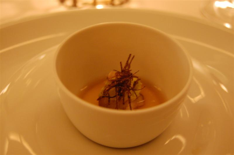 soup The Restaurant at Meadowood   12/26/09